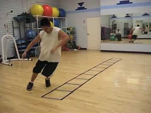 SLOW MOTION Speed Ladder and Agility Training drills