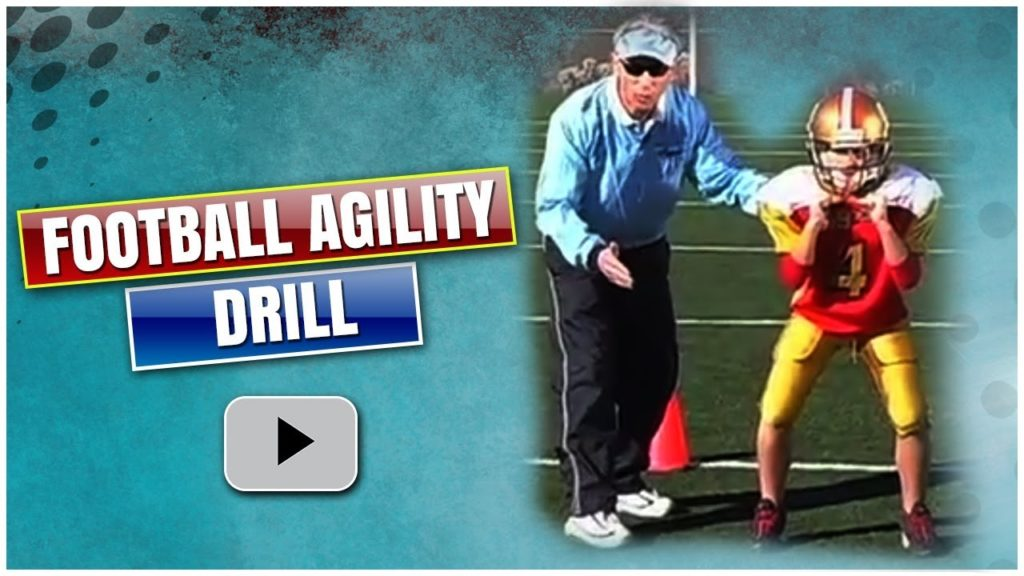 Fundamentals of Youth Football – Movement and Agility Drill – Coach Jeff Scurran