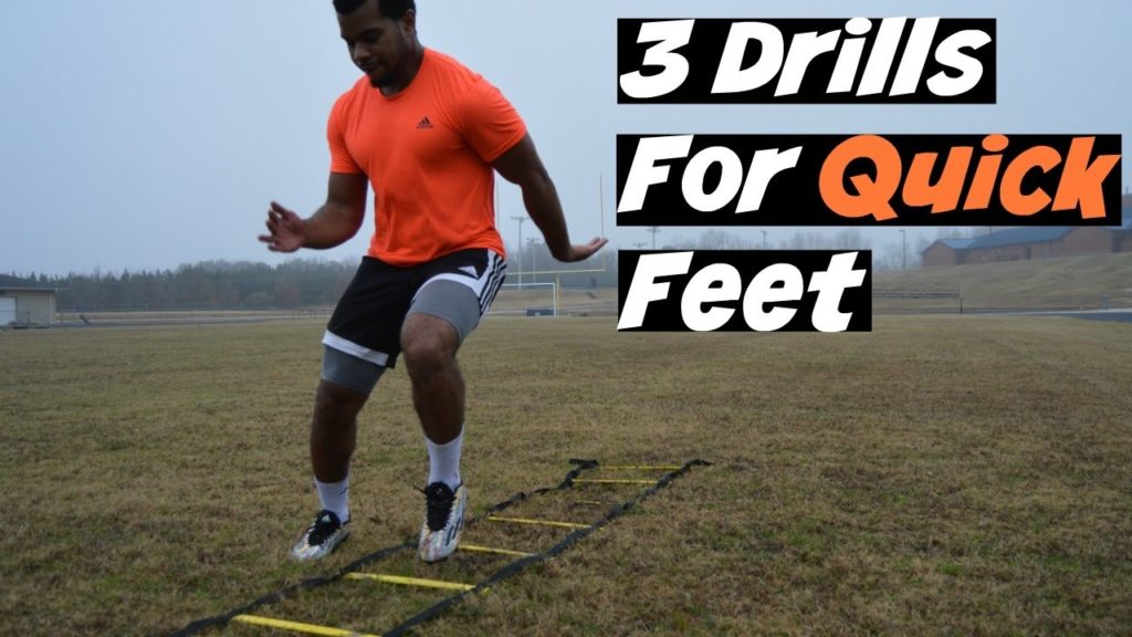 AGILITY DRILLS FOR INSANE FOOTWORK | OFFSEASON EP. 2