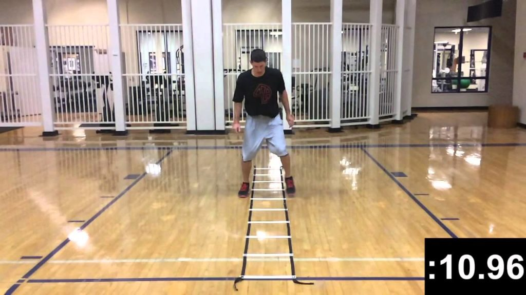 Agility Ladder Drills – :30 Ladder Test