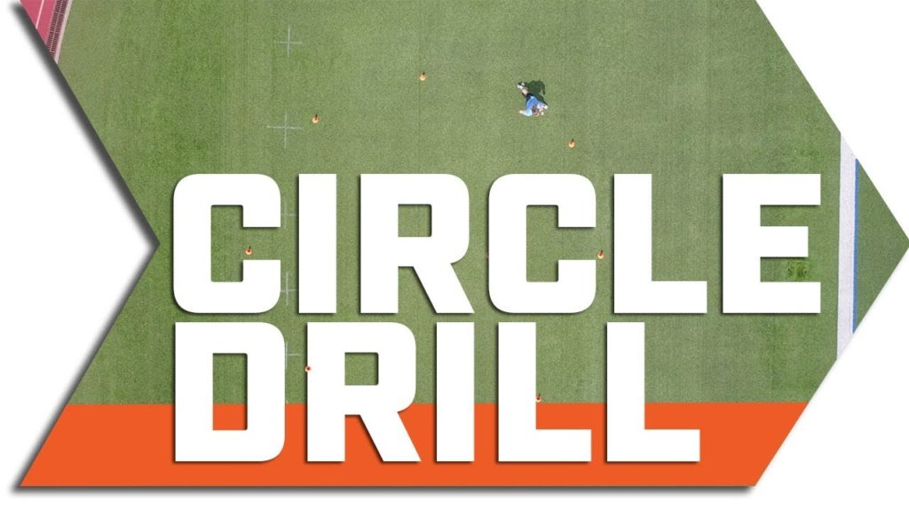 Circle Drills // 3 Cone Drills For Speed And Agility