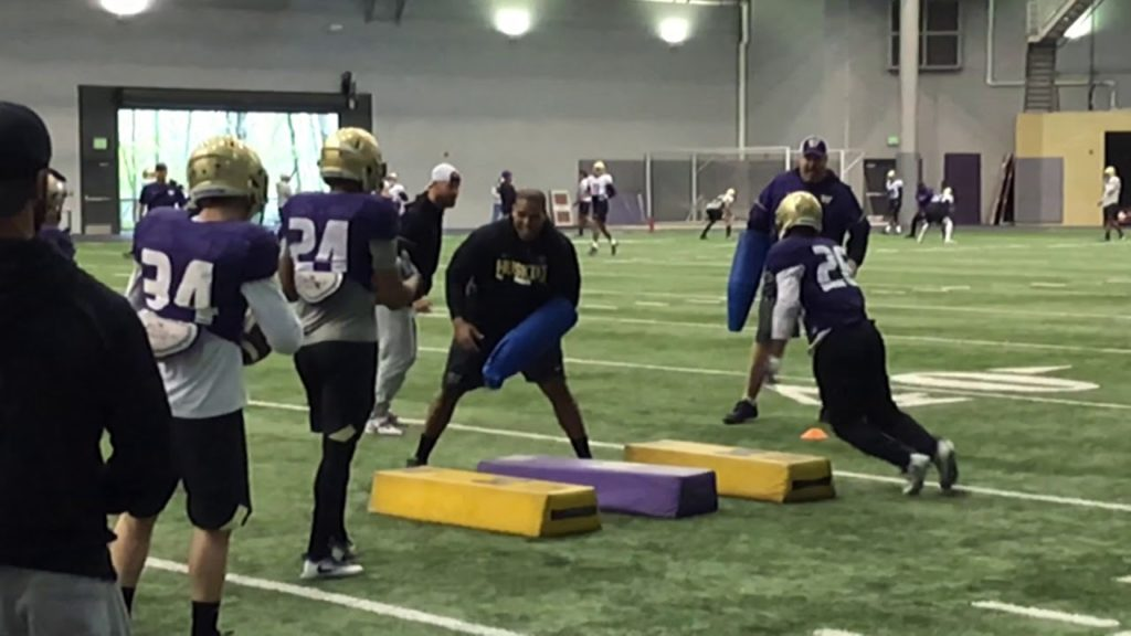 Running Backs Agility Drill – Spring Football Practice Day 12