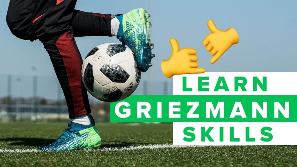 LEARN GRIEZMANN FOOTBALL SKILLS | How to dribble like Antoine Griezmann