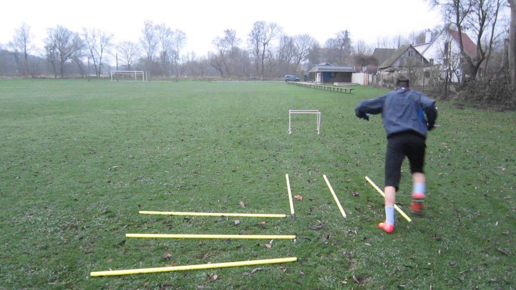 agility exercise – football training – koordinační cvičení fotbal 1