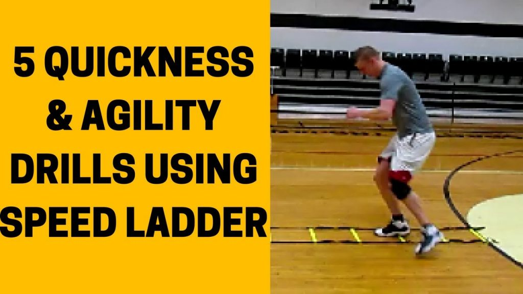 How To Increase Quickness/Agility With Speed Ladder | 5 Speed Ladder Drills