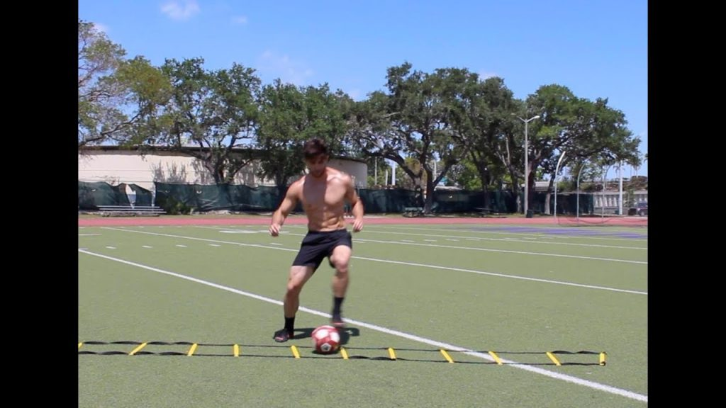 Agility Ladder Drills for Football (Soccer) | Speed, Footwork & Quickness!