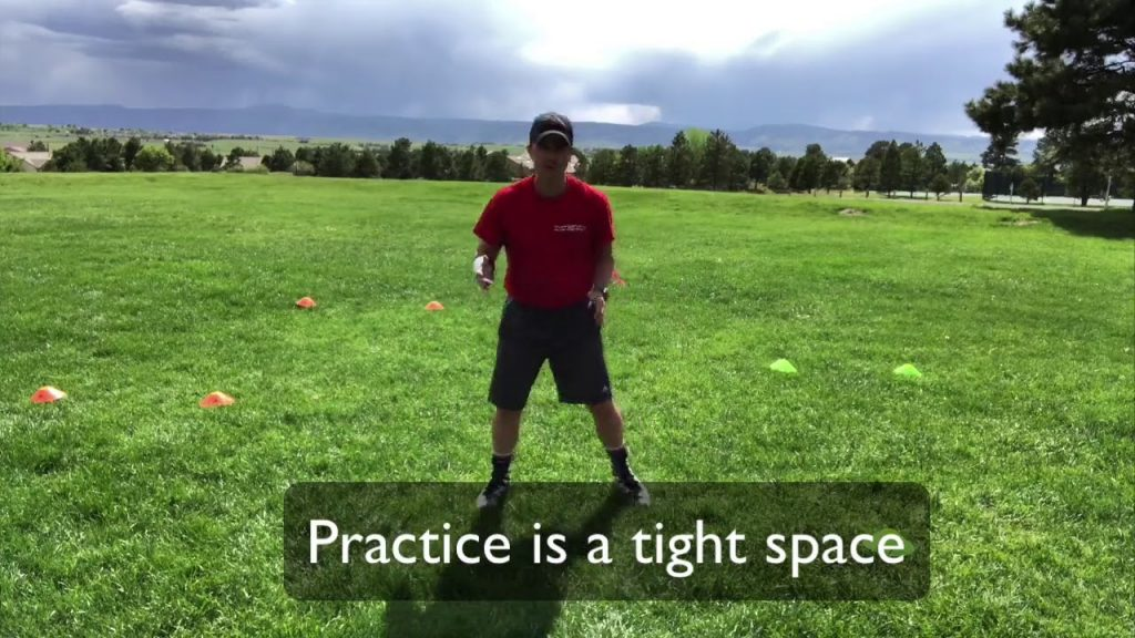 Agility Ladder for Football – Juking, Cutting, Speed, and Agility – Youth Flag Football Drill