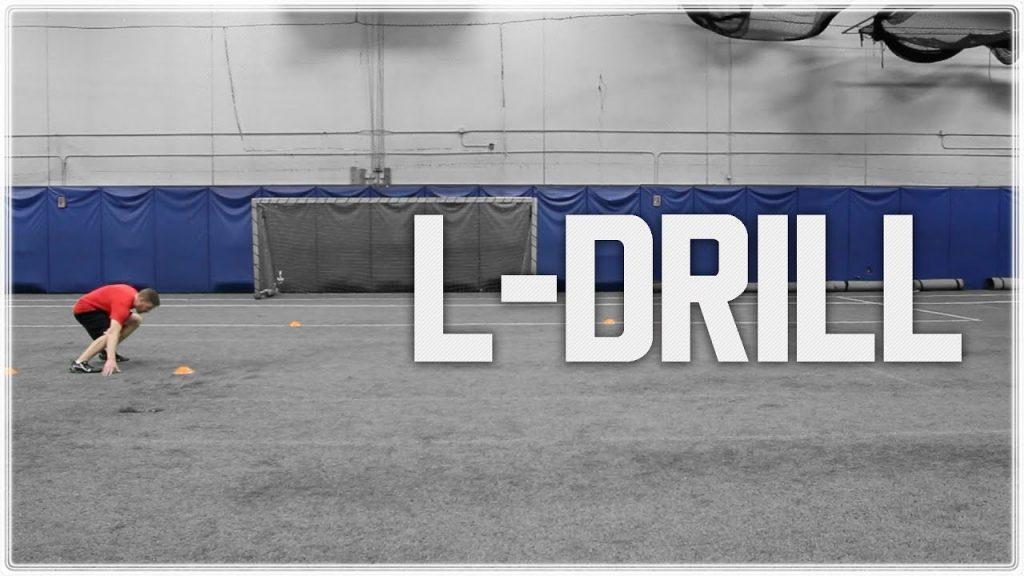L Drill – 3 Cone Drill Technique | NFL Combine Training | Football Agility