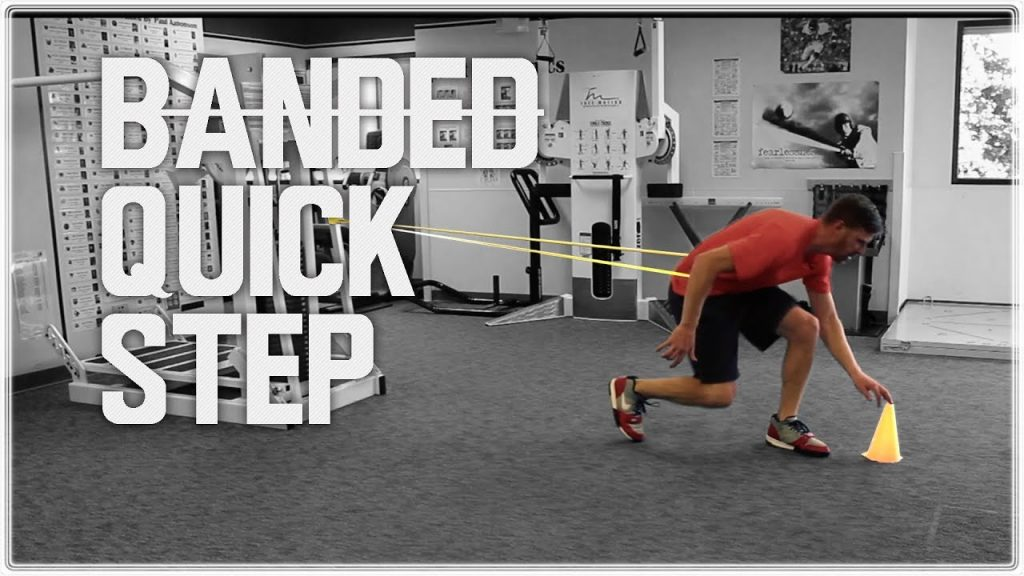 Football Training: Defensive Back Drills – Footwork and Agility | Banded Quick Step