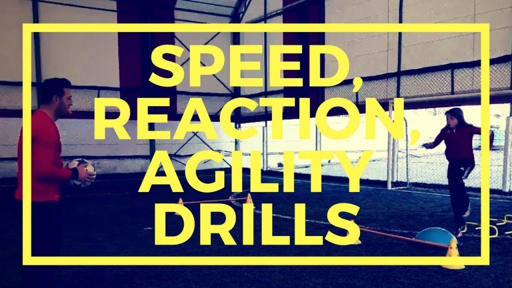 Individual football training • Speed, Reaction, Agility drills