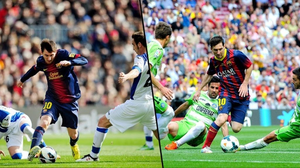 The Agility of Lionel Messi