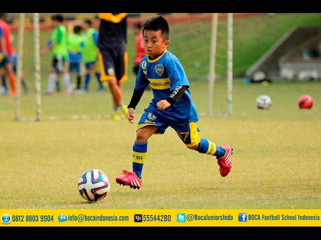 agility training Boca Juniors Football Schools Indonesia Term 2015 (28-29 Agustus 2015)