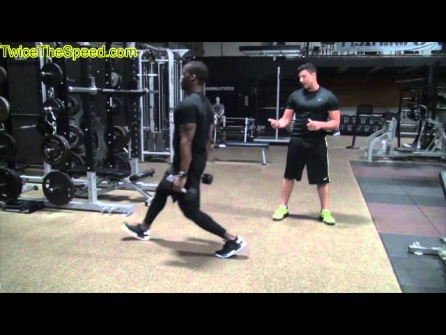"""Speed and Agility Training"" – Lunges To Run Faster"