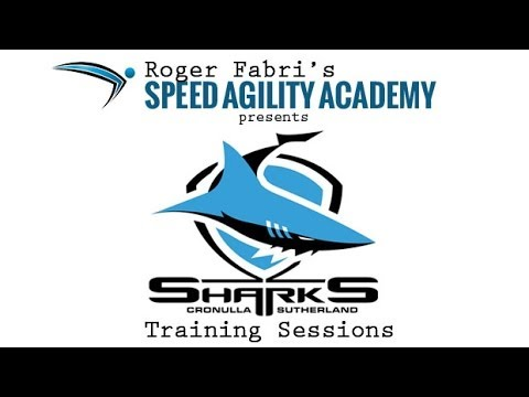 Cronulla Sharks Speed Agility Training Sessions