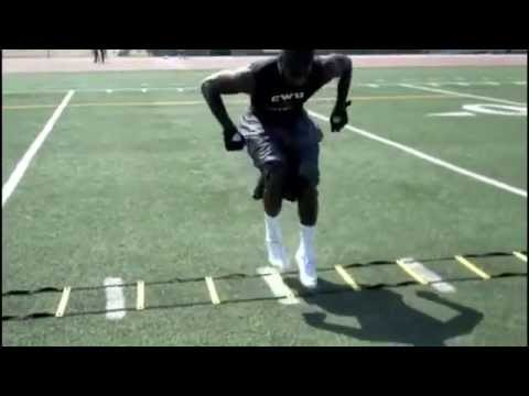 Footwork and Agility Drills With Deionte Gordon
