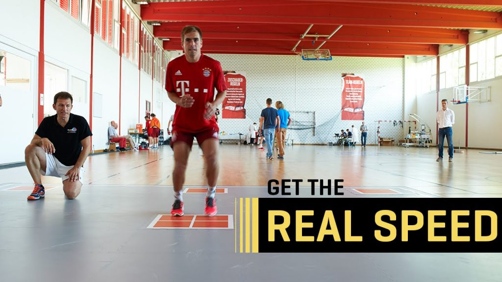 FC Bayern München on the SpeedCourt – quickness, speed, agility, reaction and cognitive training