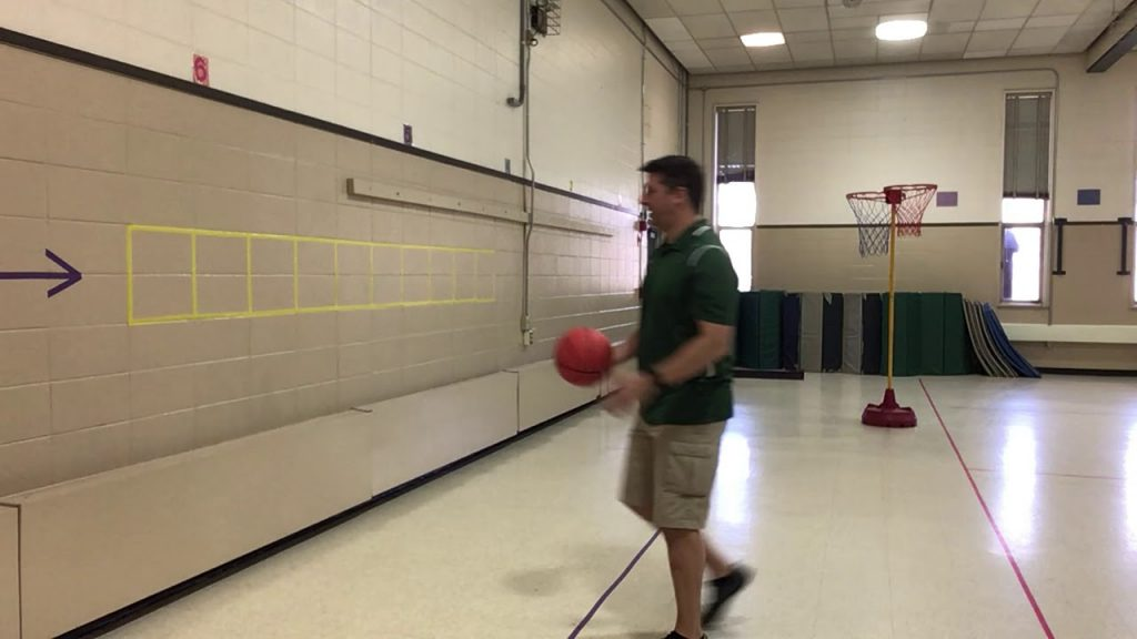 Basketball agility ladder Two activities