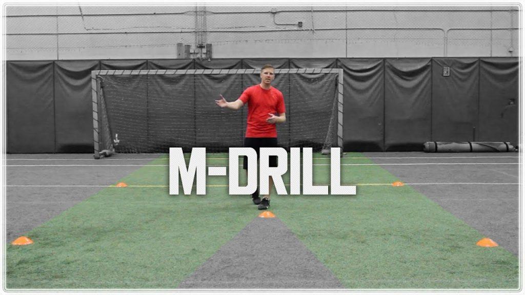 M Drill | Cone Drills to Improve Footwork, Agility & Make Sharp Cuts