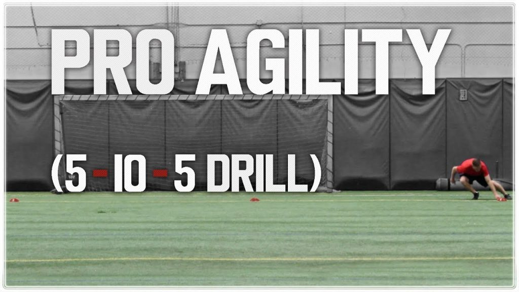 How To Improve Your Pro Agility (5-10-5) for Football | NFL Combine Training