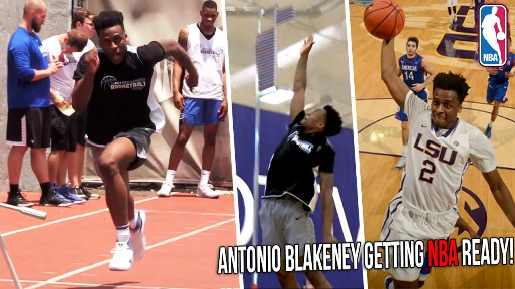 Antonio Blakeney NBA Pre-Draft Workout   LSU Star Tests Vertical, Agility & NBA Skills!