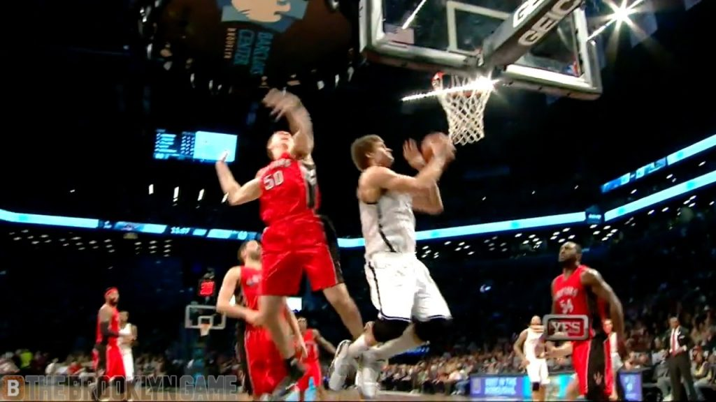 Brook Lopez Shows Incredible Agility & Touch w/ And-1 Layup