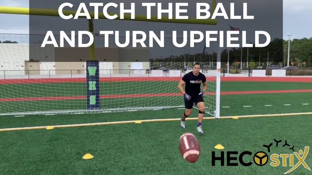 HECOstix football agility drill