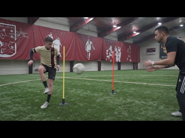 9 Simple Football/Soccer Exercises to Improve – Passing – Receiving – Speed and Agility