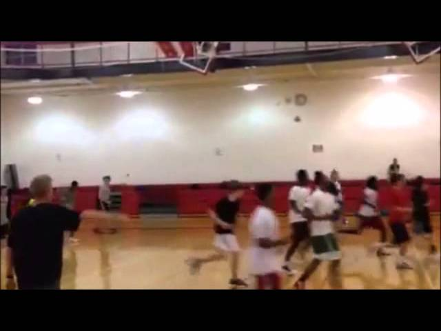 Churchill Basketball Speed & Agility 9-29-14