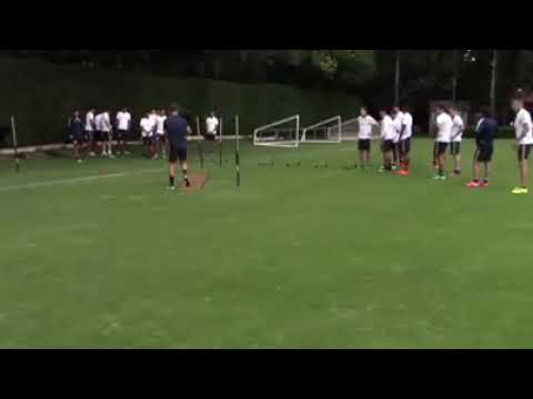 Football soccer drills agility and reaction exersize