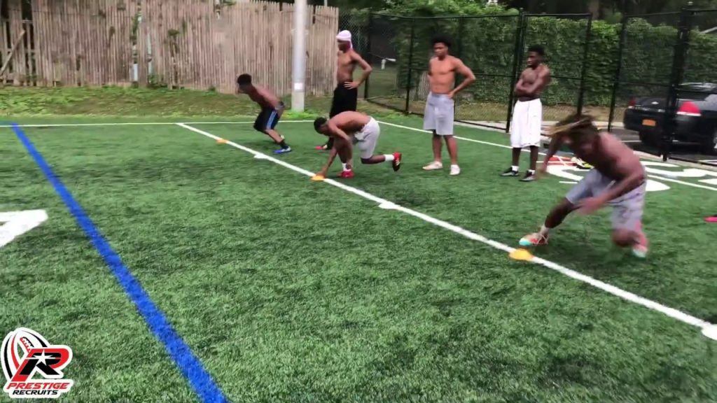 Prestige Recruits – Football Agility Training lateral bounds