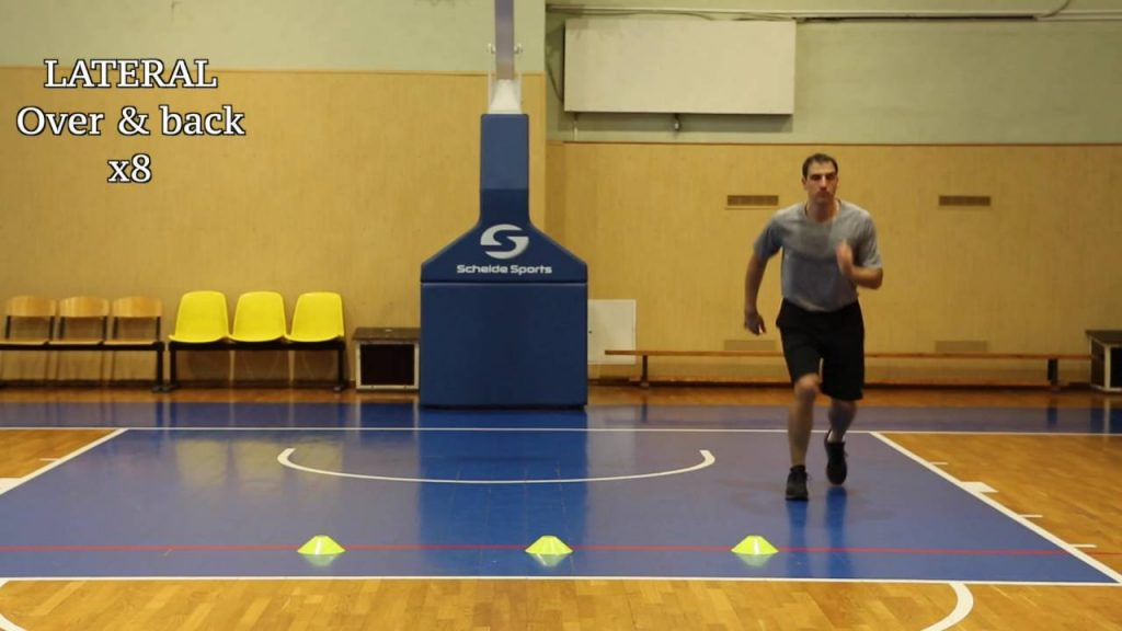 Cone Drills for Footwork and Quickness Development