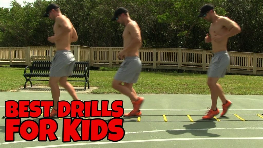 Kids Workout – Agility Ladder Drills for Kids & Youth Athletics