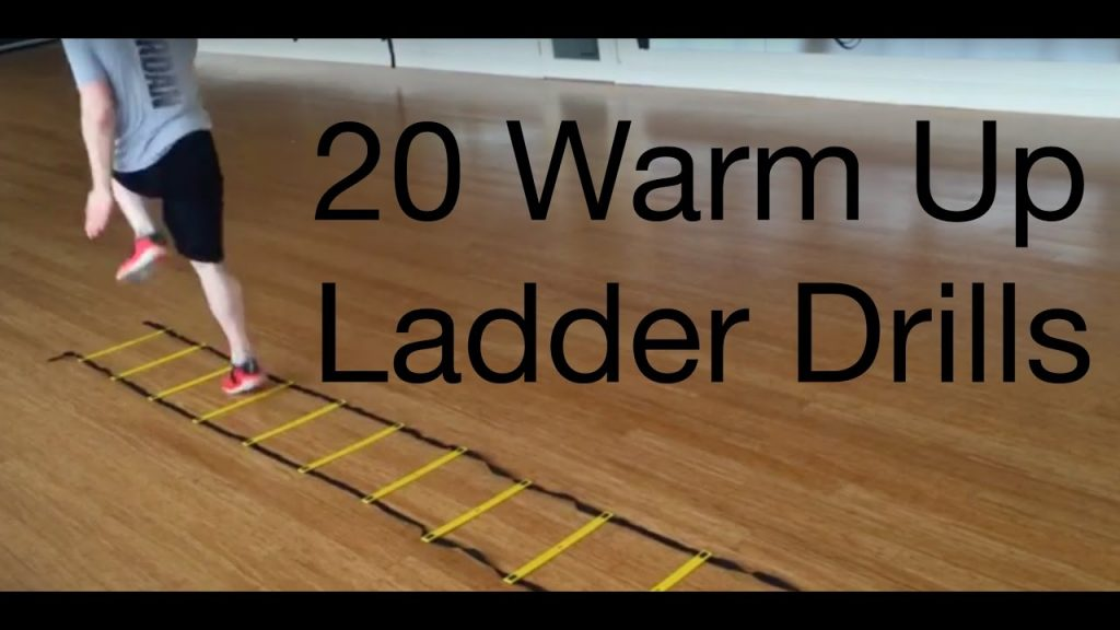 20 Beginner to Advance Warm Up Agility Ladder Drills