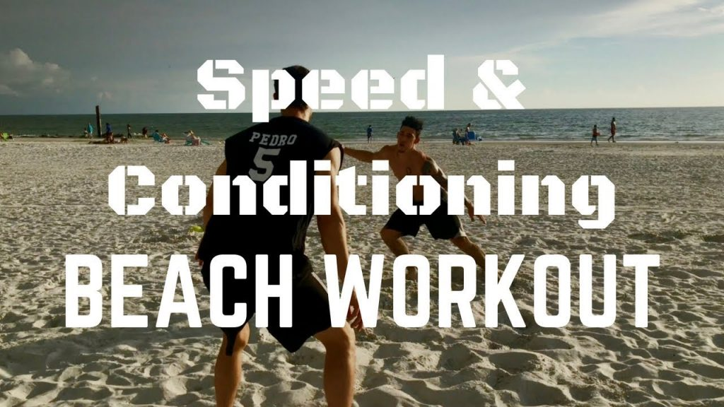 Beach Workout | Speed & Conditioning | Agility Training for Athletes | Nate Pedro Training