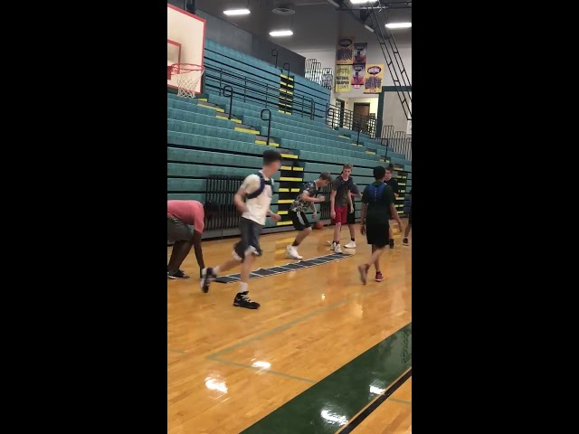 BEASTMODE BASKETBALL TRAINING quick clip of our agility workout!
