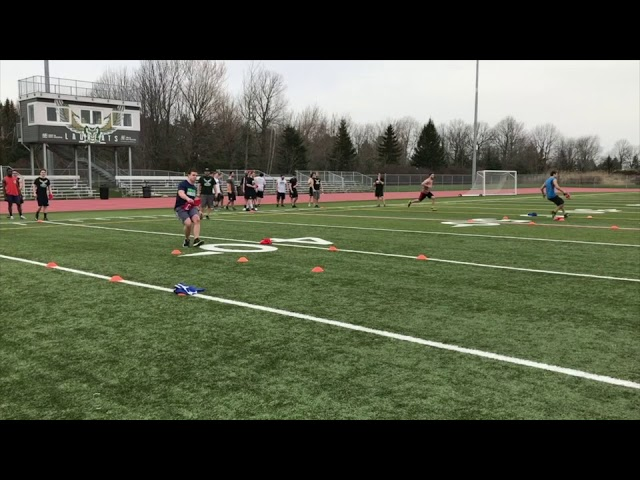 American Football Group Training for (Agility), Reactive Ability and Decision Making