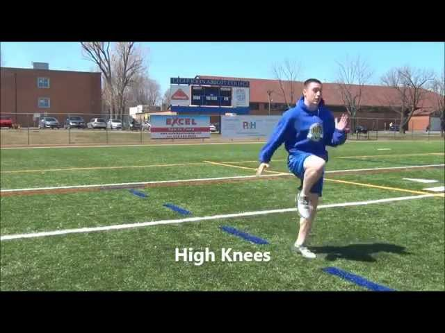 Jac Football Strength – Agility Work