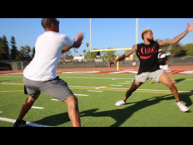 The Crazy Agility Drill That Makes Odell Beckham Jr. So Tough to Cover