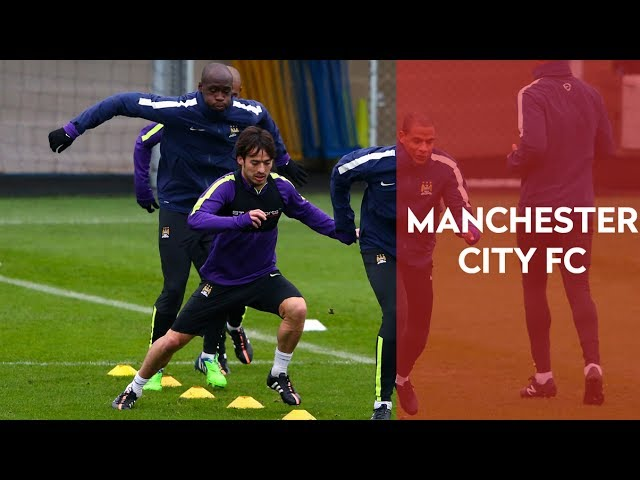 Manchester City FC Speed and Agility Circuit