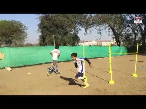 Football Agility and Passing drill   DSD Academy