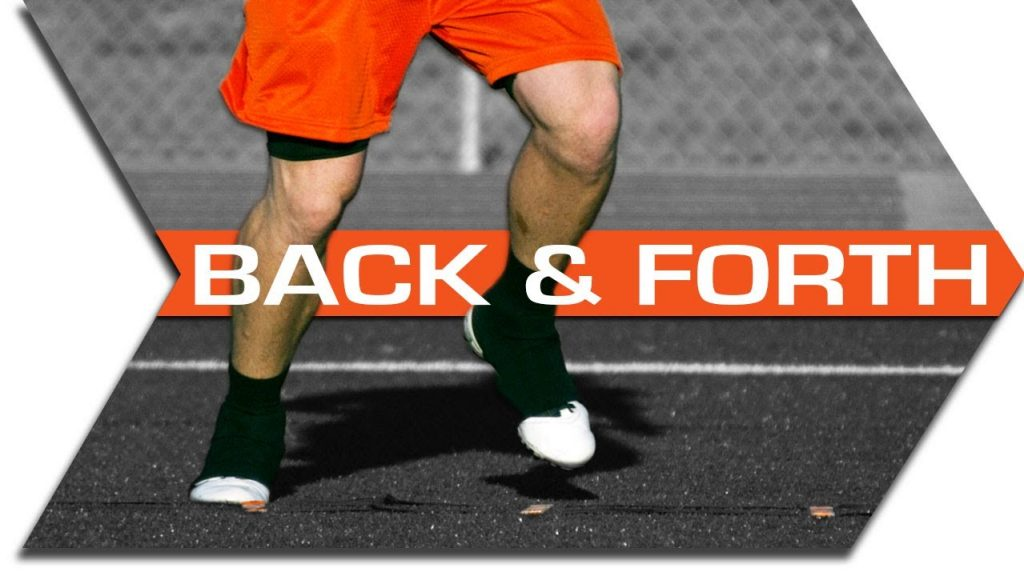 BACK & FORTH – AGILITY LADDER DRILLS – FOOTWORK, QUICKNESS & SPEED TRAINING DRILL