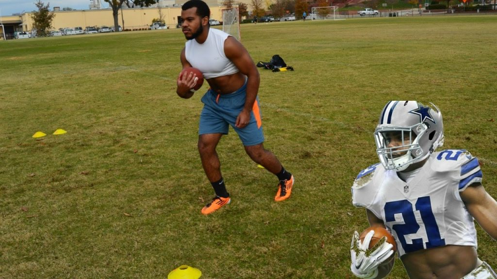 Ezekiel Elliot RB Footwork/Speed Workout | SpeedMas Day 3