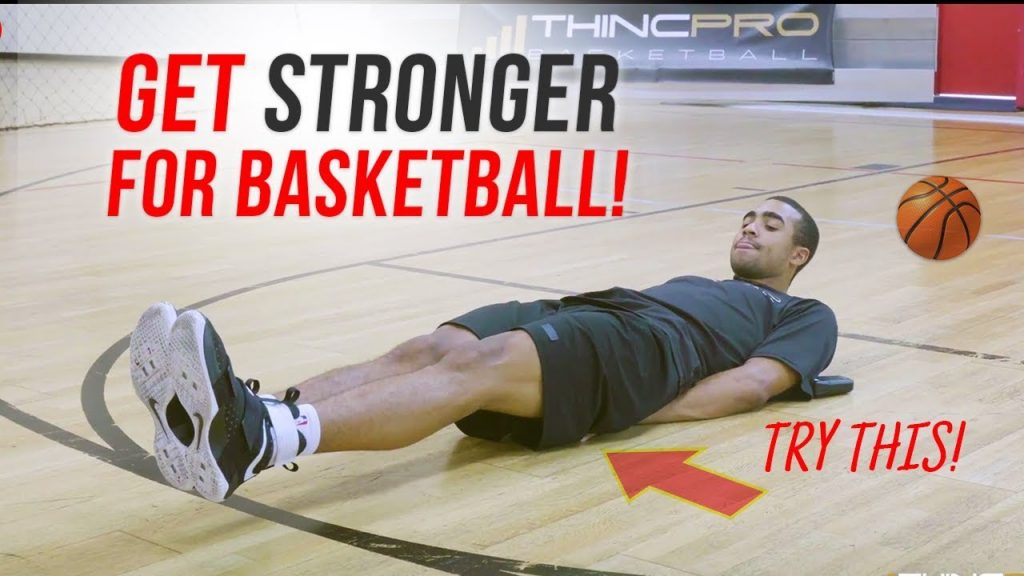 How to: Get STRONGER for Basketball WITHOUT WEIGHTS!!! Build Muscle Lose Fat | No Equipment Required