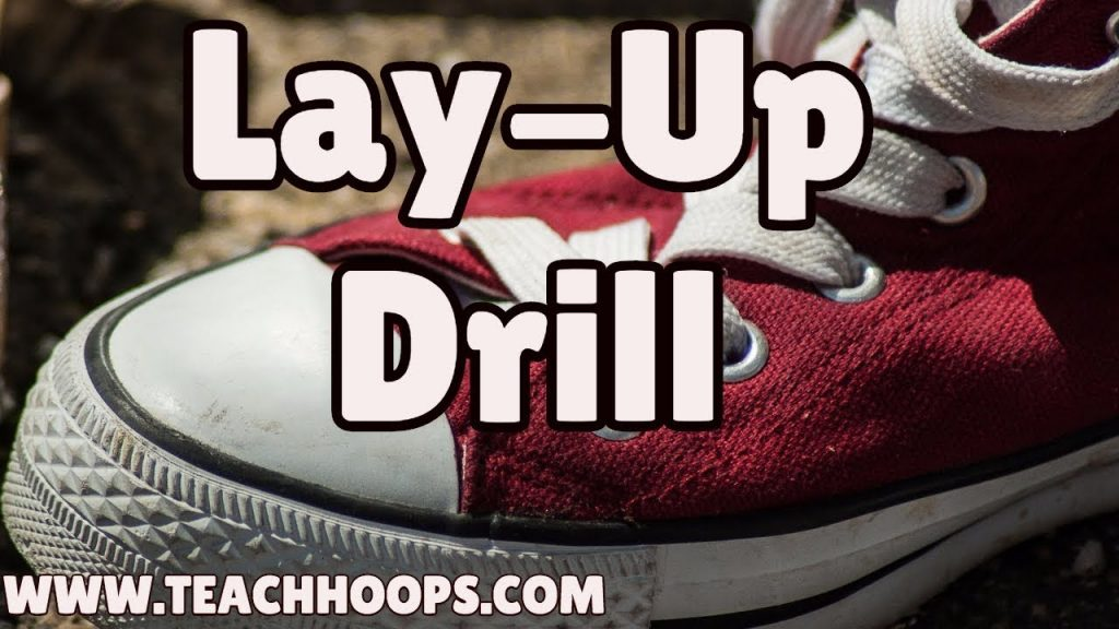 Competitive lay up Drill