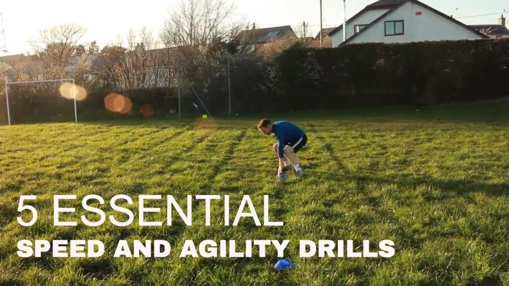 The best 5 Speed and Agility Drills For Football | Sion KF