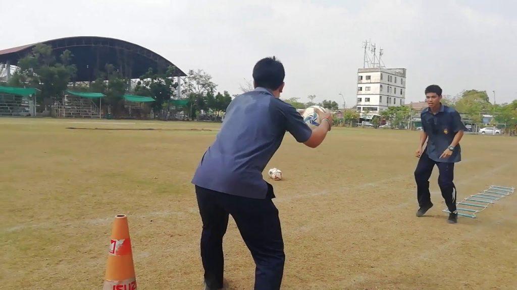 เเบบฝึกความคล่องตัว (Agility)  Football