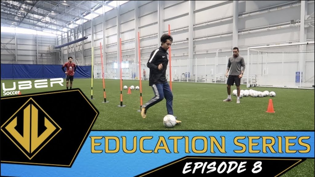 Uber Soccer Education Series – Ep. 8 – Training With Agility Poles