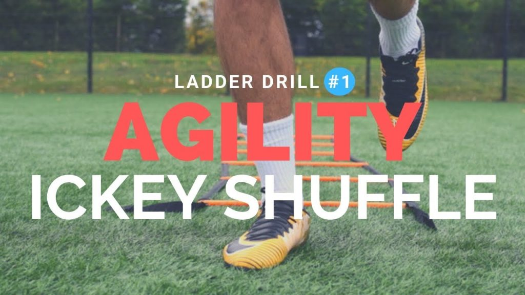 Best Agility Ladder Drills For Football- Fast Feet Agility Ladder Drills- Ickey Shuffle ladder drill