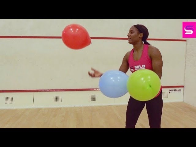 ‪#‎SoloSessions with Sash:  Balloon Agility Fun