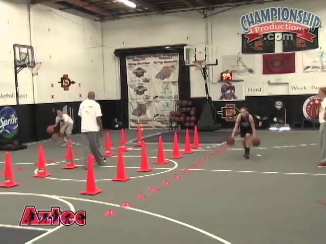 Two Ball Handling Drills to Improve Speed, Agility, and Concentration!
